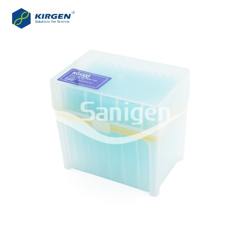 Kirgen Blue Long Tips, 100-1000ul