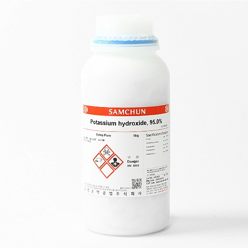 Samchun 0.1mol/Sodium hydroxide(N/10) 500mL/1L