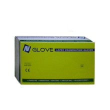Nglove Latex glove 라텍스장갑 XS S M L 100매